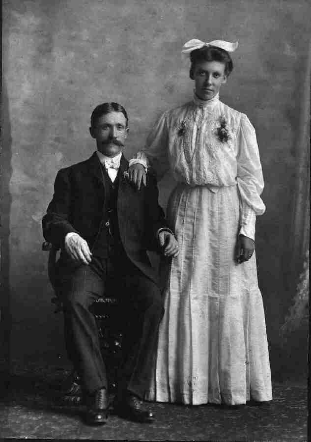 Olof and Ida's Wedding Picture